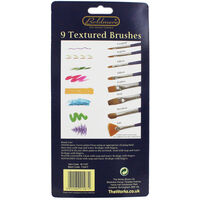 Boldmere 9 Piece Textured Brushes Set