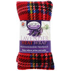Red Tartan Lavender Microwaveable Heat Wrap image number 1