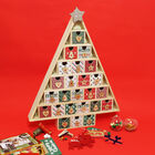 Wooden Christmas Tree Advent Calendar image number 3