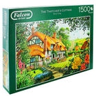 The Thatchers Cottage 1500 Piece Jigsaw Puzzle image number 1