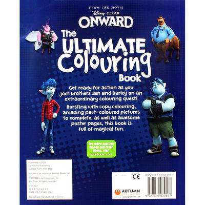 Disney Onward The Ultimate Colouring Book image number 4