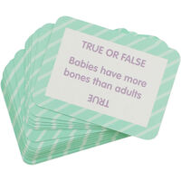 Baby Shower Challenge Game Cards - Pack of 24