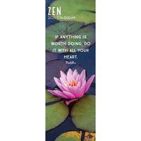 2021 Slim Calendar: Zen