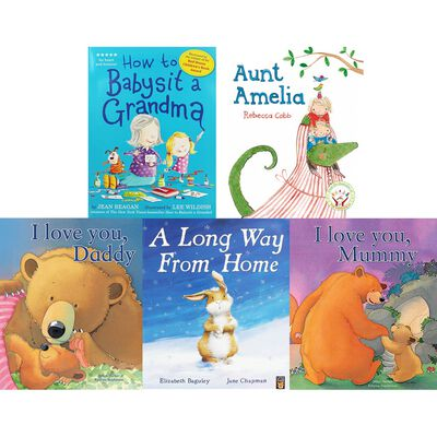 Family-Time Tales: 10 Kids Picture Books Bundle image number 2