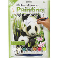 Painting By Numbers: Panda And Baby