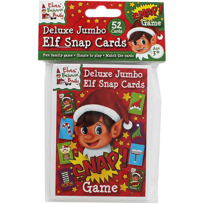 Deluxe Jumbo Elf Snap Cards image number 1