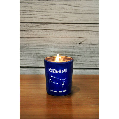 Zodiac Collection Gemini Fresh Vanilla Candle image number 4