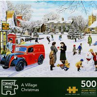 A Village Christmas 500 Piece Jigsaw Puzzle