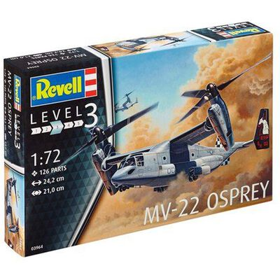 Revell MV-22 3964 Osprey Model Kit image number 1
