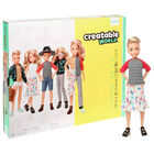 Creatable World Deluxe Character Kit: Blonde Wavy Hair image number 1