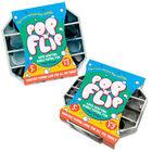 Pop 'N' Flip Bubble Popping Fidget Game: Assorted Tie-Dye Black image number 3