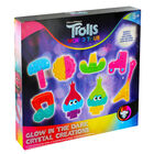 Trolls World Tour Glow in the Dark Crystal Creations image number 1