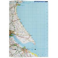 AA: Large Scale Road Atlas Britain 2020