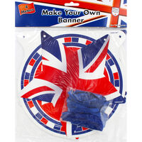 Make Your Own Union Jack Banner