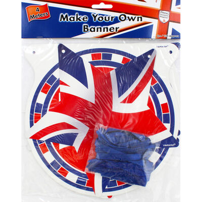 Make Your Own Union Jack Banner image number 1