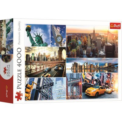 New York 4000 Piece Jigsaw Puzzle image number 1