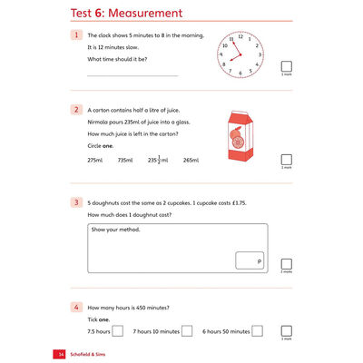 KS2 SATs Reasoning 10-Minute Tests: Ages 10-11 image number 2