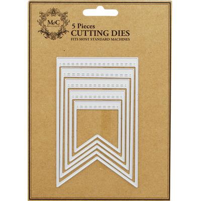 Flag 5 Piece Metal Cutting Die Set image number 1