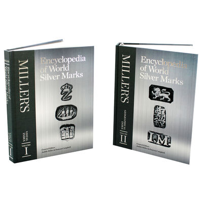 Millers Encyclopedia of World Silver Marks: 2 Book Box Set image number 2