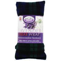 Black with Green Tartan Lavender Microwaveable Heat Wrap