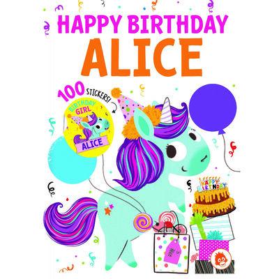 Happy Birthday Alice image number 1