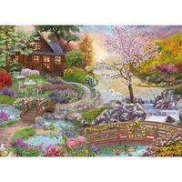 Spring Stream 500 Piece Jigsaw Puzzle