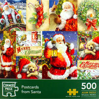 Postcards from Santa 500 Piece Jigsaw Puzzle