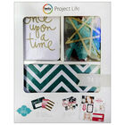 American Crafts: Project Life Glitter 74 Piece Journal Kit image number 1