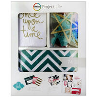 American Crafts: Project Life Glitter 74 Piece Journal Kit