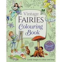 Vintage Fairies Colouring Book