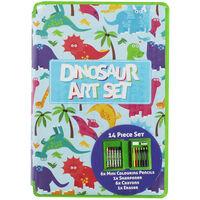 Dinosaur Mini Art Set