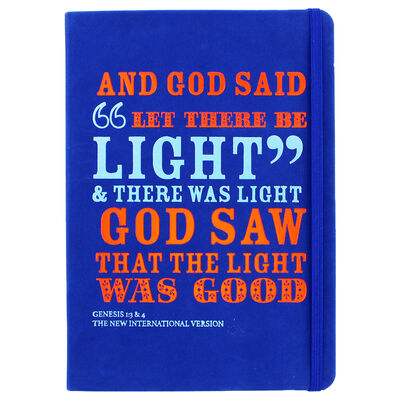 A5 Case Bound PU And God Said Notebook image number 1