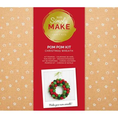 Pompom Wreath Kit image number 1