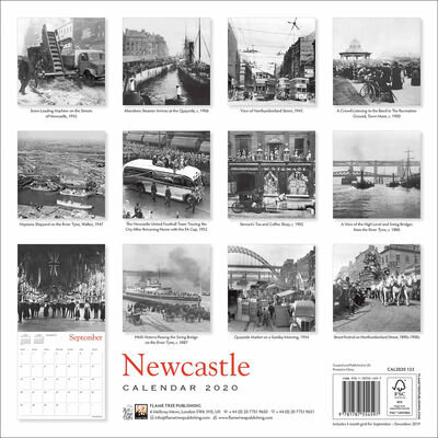 Newcastle Heritage 2020 Wall Calendar image number 3