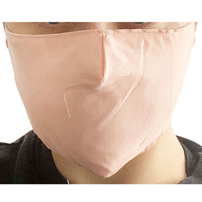 Light Pink Reusable Face Covering image number 3
