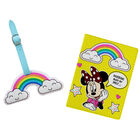 Disney Minnie Mouse Yellow Rainbow Luggage Accessory Set image number 2