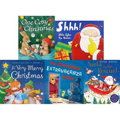 Santa's Sweet Stories: 10 Kids Picture Books Bundle image number 2