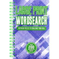 Large Print Wordsearch - 200 Easy-Read Puzzles