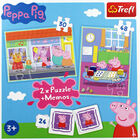 Peppa Pig 2-in-1 Jigsaw Puzzle Set image number 3