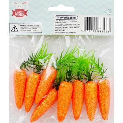 Glitter Carrots - 8 Pack image number 3