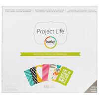 American Crafts: Project Life Kiwi 616 Piece Card Kit