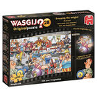 Wasgij Original 28 Dropping the Weight 1000 Piece Jigsaw Puzzle image number 1