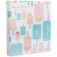 American Crafts: Popsicles Memory Planner Binder