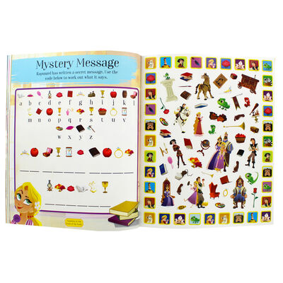 Disney Tangled The Series Ultimate Sticker and Activity Book image number 2