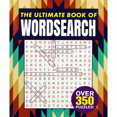 The Ultimate Book of Wordsearch image number 1