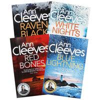 Ann Cleeves Fiction 4 Book Bundle