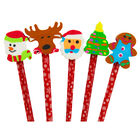XMA20 5pk Pencil Toppers image number 3