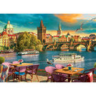Evening in Prague 500 Piece Jigsaw Puzzle image number 2