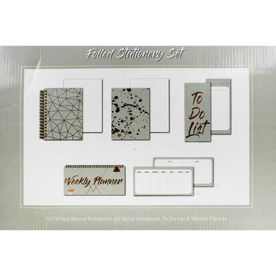 Foiled Stationery Set image number 3