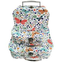 Butterfly Storage Suitcases: Set of 3